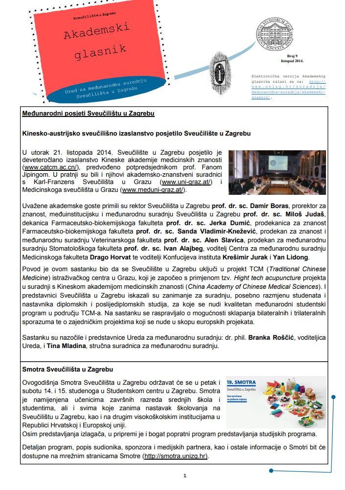 prikaz prve stranice dokumenta Akademski glasnik 9(2014)