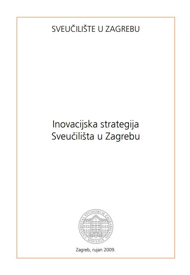 prikaz prve stranice dokumenta Inovacijska strategija Sveučilišta u Zagrebu